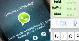 Whatsapp-da qalın, üstüxətli yazmaq üçün bu videoya baxın